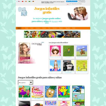 Juegos gratis infantiles para niños screenshot