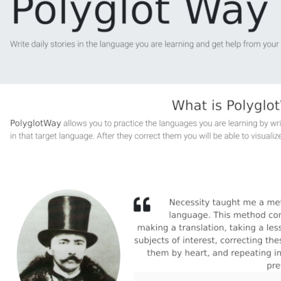 Polyglot Way screenshot