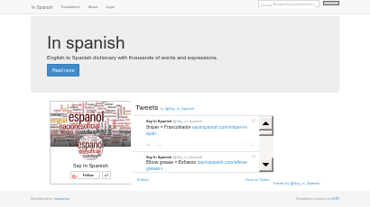 Bilingual databases Homepage