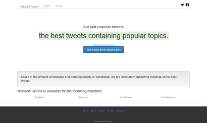 Twitter daily best tweets Homepage